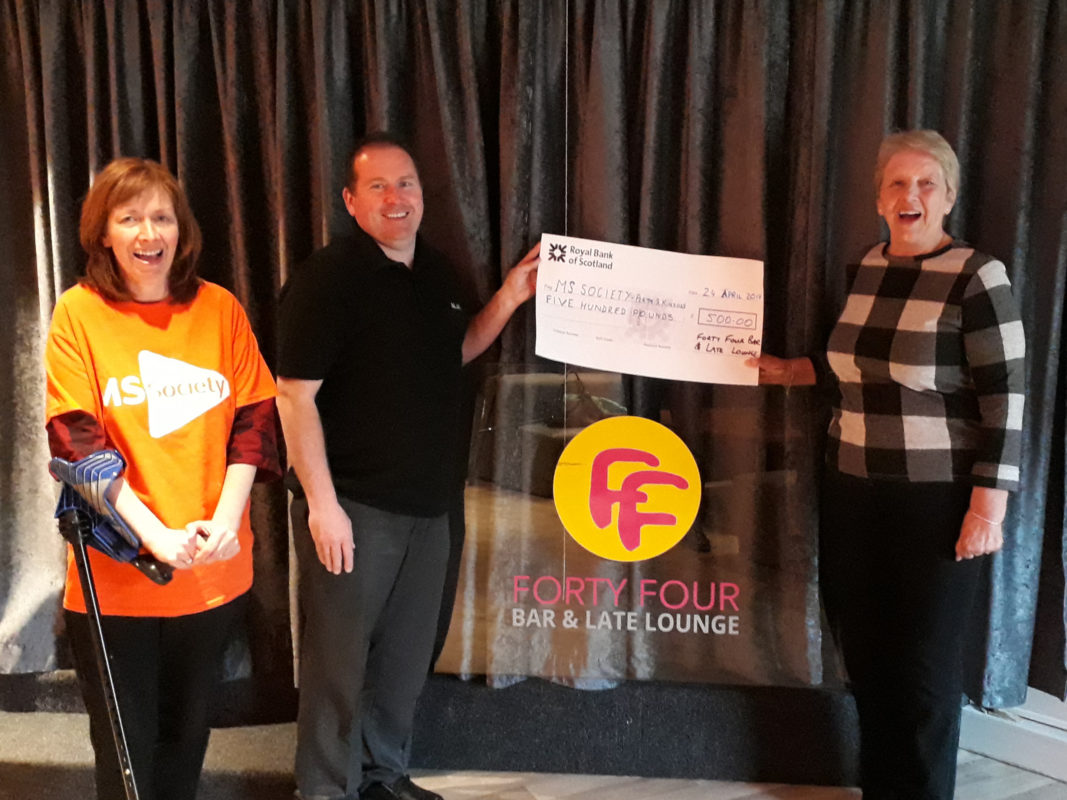 Fundraising Event Raises £500 for MS Society